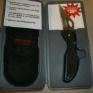 Maxam Pro Series Knife  w/ case NEW