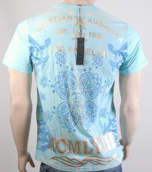 Christian Audigier T Shirt Ed Hardy size L