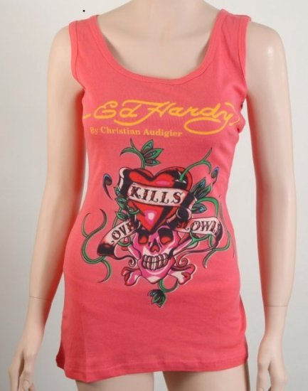 Ed hardy Top by Christian Audigier size S BEAUTIFUL
