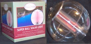 SOLAR LIGHT BALL / POOL LIGHT