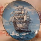 The Twilight Under Full Sail / Collector Plate /  W. S. George  1989 / Artist: Charles Vickery