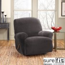 RECLINER COVER / LINKS DESIGN / BLACK / SUREFIT