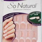 Nailene So Natural Everyday French Nail Kit / #71324 Short Sheer