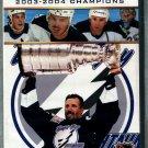 DVD Stanley Cup Tampa Bay Lightning  2003-2004 Champions