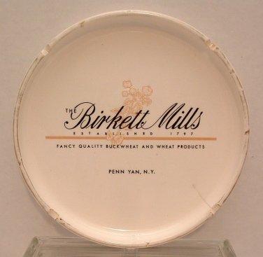 Ashtray The Birkett Mills Vintage 1960's