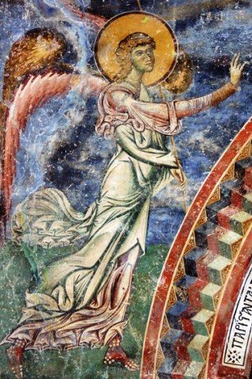 angel from kurbinovo