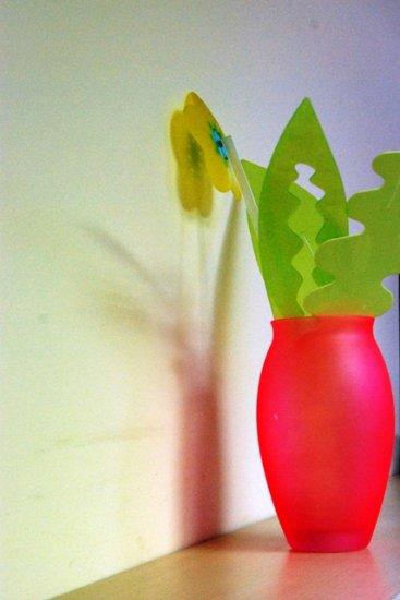 colourfull vase