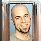 CHRIS DAUGHTRY ITALIAN PHOTO CHARM