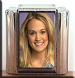CARRIE UNDERWOOD #2 ITALIAN CHARM CHARMS
