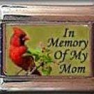 IN MEMORY OF MOM CARDINAL ITALIAN CHARM