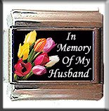 IN MEMORY OF MY HUSBAND ITALIAN CHARM