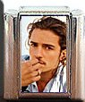 ORLANDO BLOOM #2 ITALIAN CHARM CHARMS