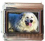 GREAT PYRENEES ITALIAN CHARM CHARMS