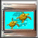 SEA TURTLES ITALIAN CHARM