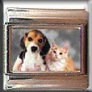 PUPPY AND KITTEN ITALIAN CHARM