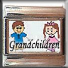 GRANDCHILDREN ITALIAN CHARM CHARMS
