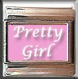 PRETTY GIRL ITALIAN CHARM CHARMS