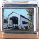 OLD COVERED BRIDGE ITALIAN CHARM CHARMS