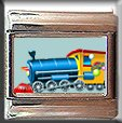 TOY TRAIN ITALIAN CHARM CHARMS