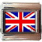 UK UNITED KINGDOM ITALIAN CHARM CHARMS