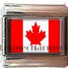 CANADA FLAG ITALIAN CHARM CHARMS