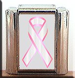 BREAST CANCER AWARENESS ITALIAN CHARM
