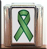 LIVER CANCER AWARENESS ITALIAN CHARM CHARMS