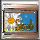 CUSTOM NAME DAISY ITALIAN CHARM CHARMS