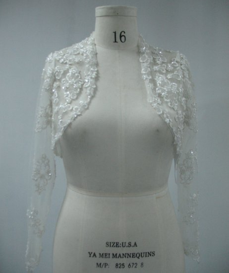 Embroidered Lace new white Jacket