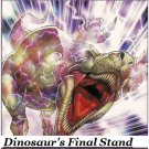 DINOSAUR'S FINAL STAND STRUCTURE DECK