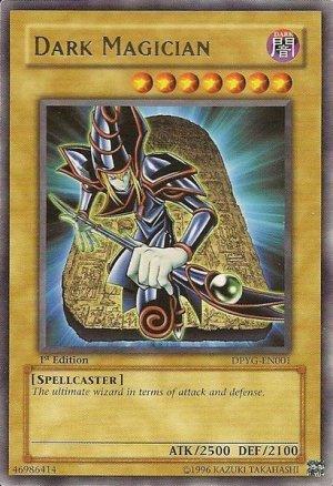 Dark Magician (1st edition)