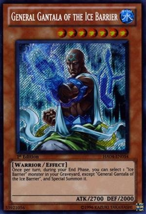 General gantala of the ice barrier (1st Edition)