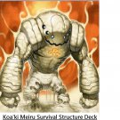 Koa'ki meiru survival structure deck