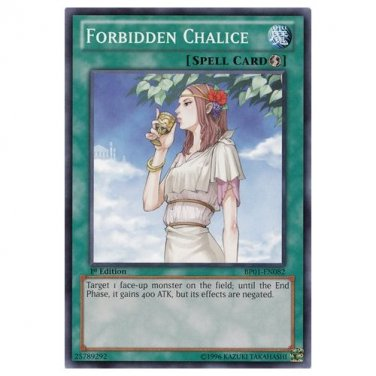 Yu-Gi-Oh! Forbidden Chalice (1st Edition) (BP01-EN082)