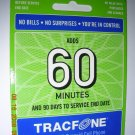 60 min Tracfone pin code with bonus codes.