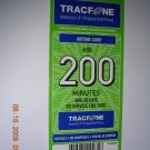 200 min Tracfone pin code with bonus codes.