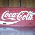 Vintage Coca-Cola License Plate