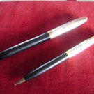 "SHEAFFER'S ""WHITE DOT"" 14K 2-PEN SET"