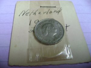 1950~~NETHERLANDS~~25 CENTS~~ BEAUTY~~RARE