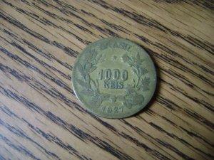 Brazil 1927 1000 Reis