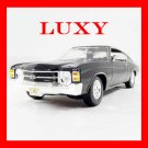 Maisto 1:18 Chevrolet Chevy Chevelle 1971 SS454 Black Diecast Car Model Luxy Collectibles