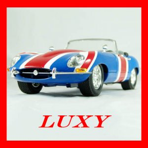 1:18 Shaguar Austin Power British Jaguar Diecast Car Model Luxy