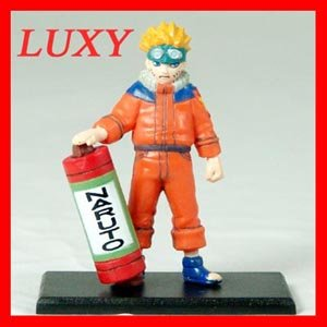 NARUTO Japan Figure Uzumaki Bandai 2002 LUXY Collectibles nt2