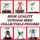 GUNDAM SEED DESTINY High Quality  Anime Luxy Collectibles Set of 6