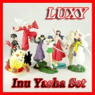 INUYASHA set of 6 Trading Figures Furuta LUXY Anime Collectibles