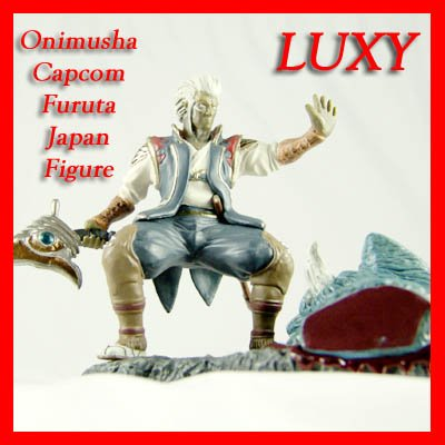 ONIMUSHA Samurai Ghost Figure Dawn of Dream Luxy Anime Collectibles os8