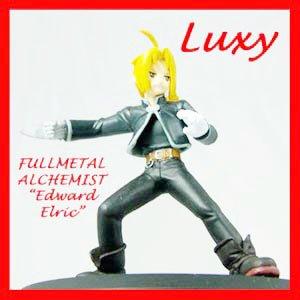 FullMetal Alchemist Edward Elric Figure Luxy Anime Collectibles fm2