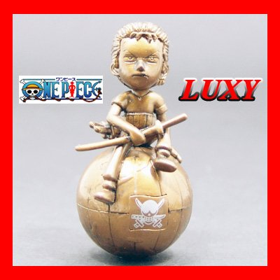 "One Piece ""Roronoa Zolo"" Anime Character Bronze Edition Luxy Collectibles"