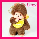 MONCHICHI Keychain Yellow Cute Sekiguchi LUXY Collectibles mo1