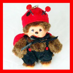 MONCHICHI Keychain Lady Bug Cute Sekiguchi LUXY Collectibles mo2